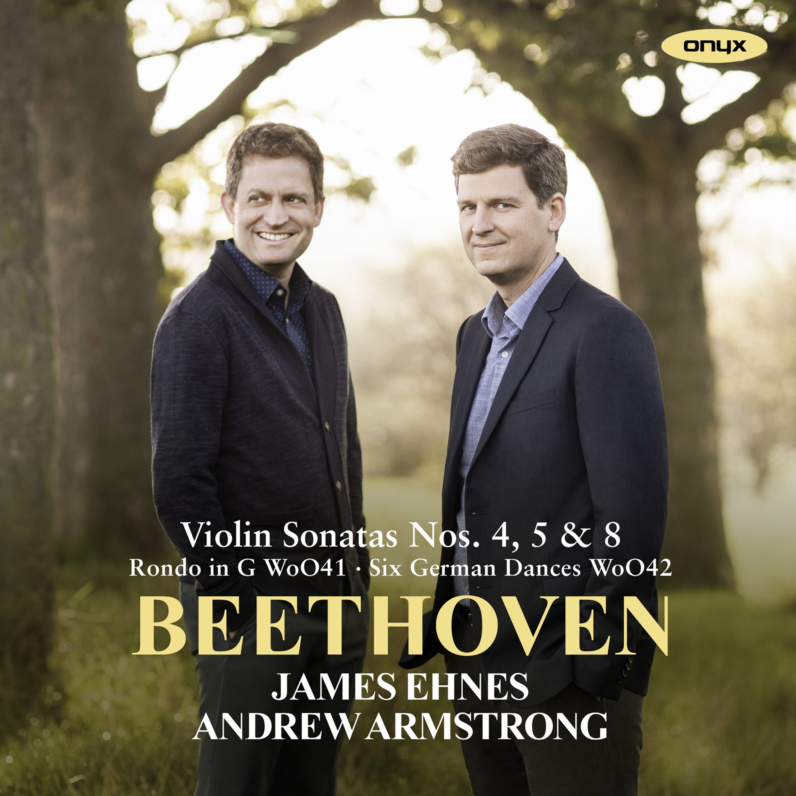 """Beethoven: Violin Sonatas Nos. 4, 5 """"Spring"""" & 8"""