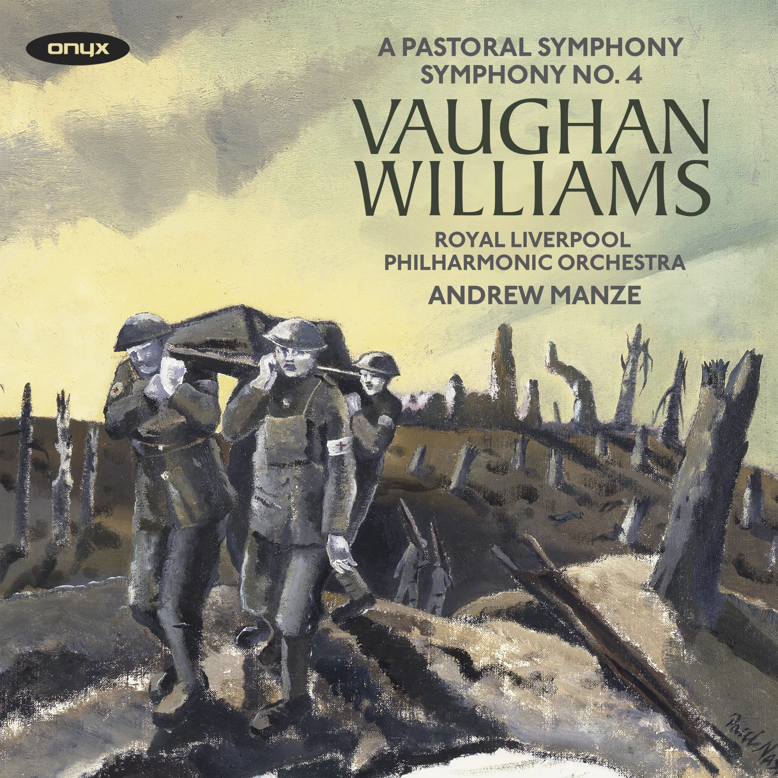 "Vaughan Williams: Symphony No. 3 ""A Pastoral Symphony"" & Symphony No. 4"