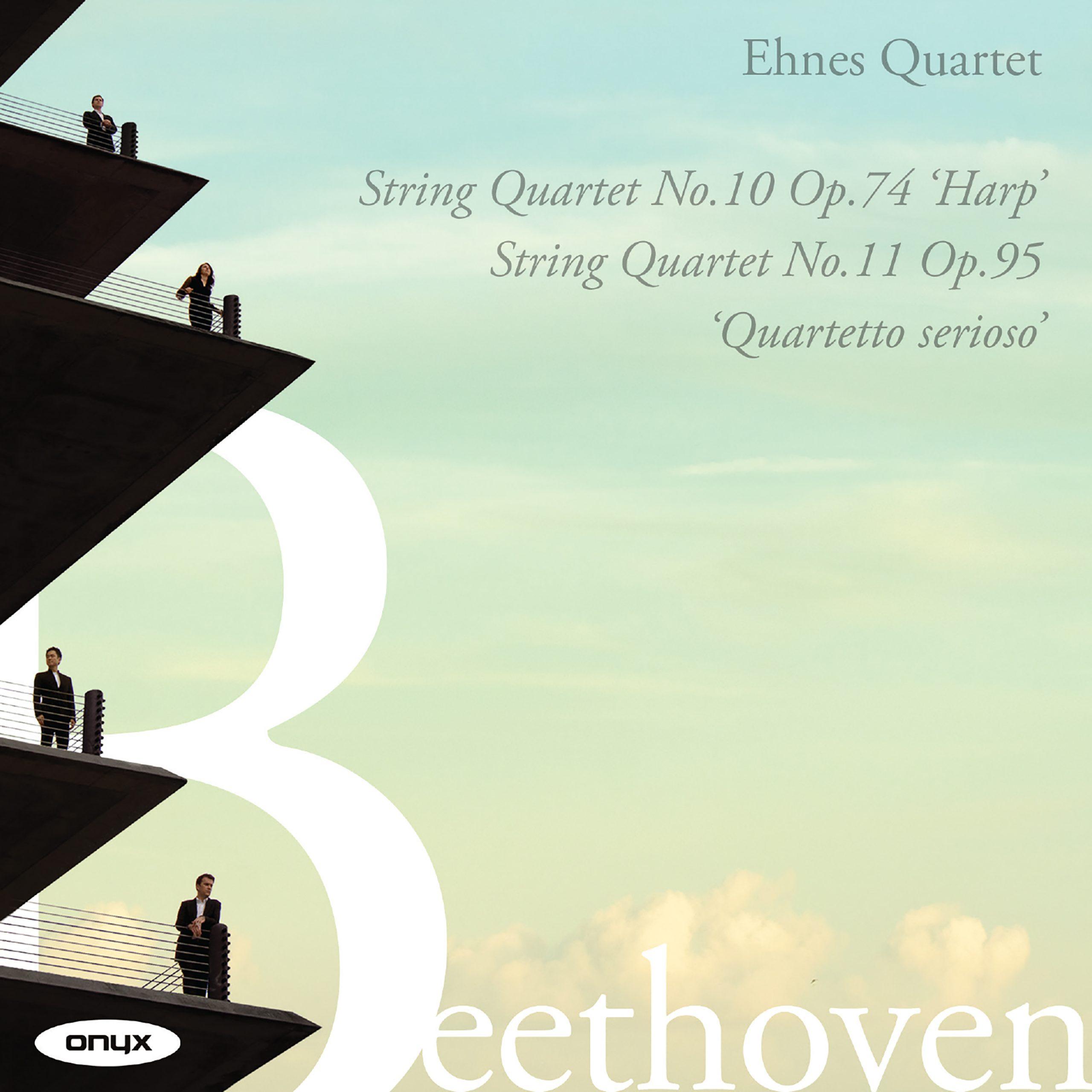 Beethoven: String Quartet No.10 Op.74 'Harp', String Quartet No.11 Op.95 'Serioso'